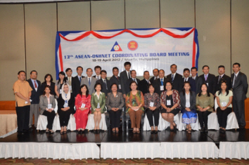 the 13th ASEAN OSHINET Coordinating Board Meeting