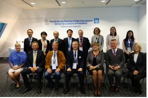 4th Bureau Meeting of the ISS AInternational Section for a Culture of Prevention (24 Aug 2014)